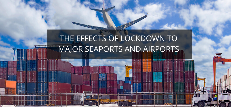 The Effects of Lockdown to Major Seaports and Airports