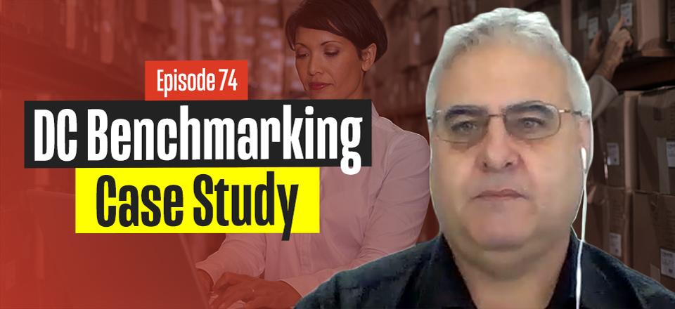 John Monck on Warehouse & Distribution Centre Benchmarking Case Study